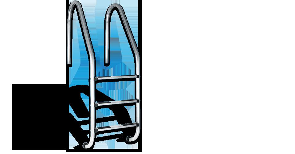 escada inox STANDARD