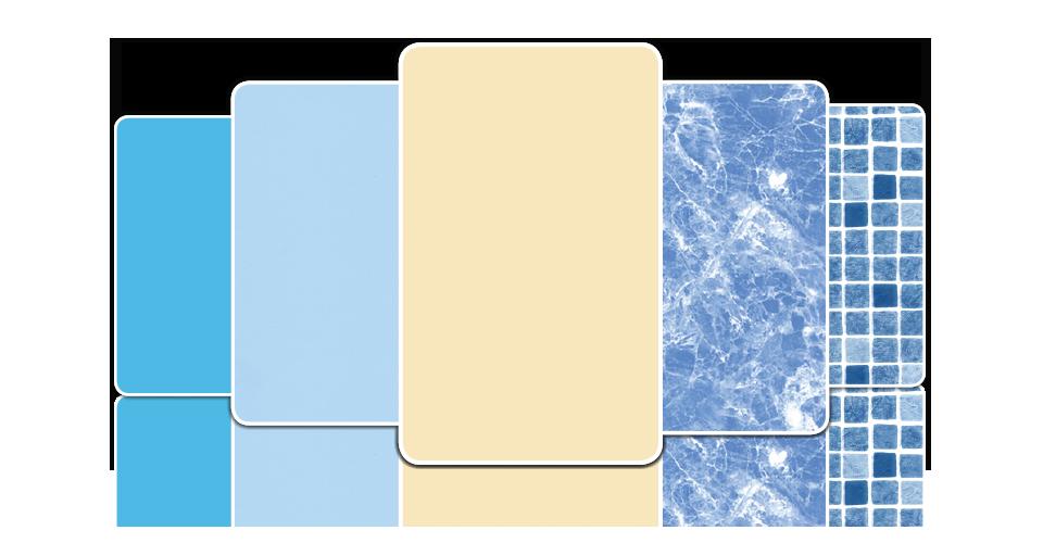 Revestimento de piscinas linov gama completa de liners e for Tela impermeable para piscinas