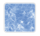 tela armada Marbré Bleu