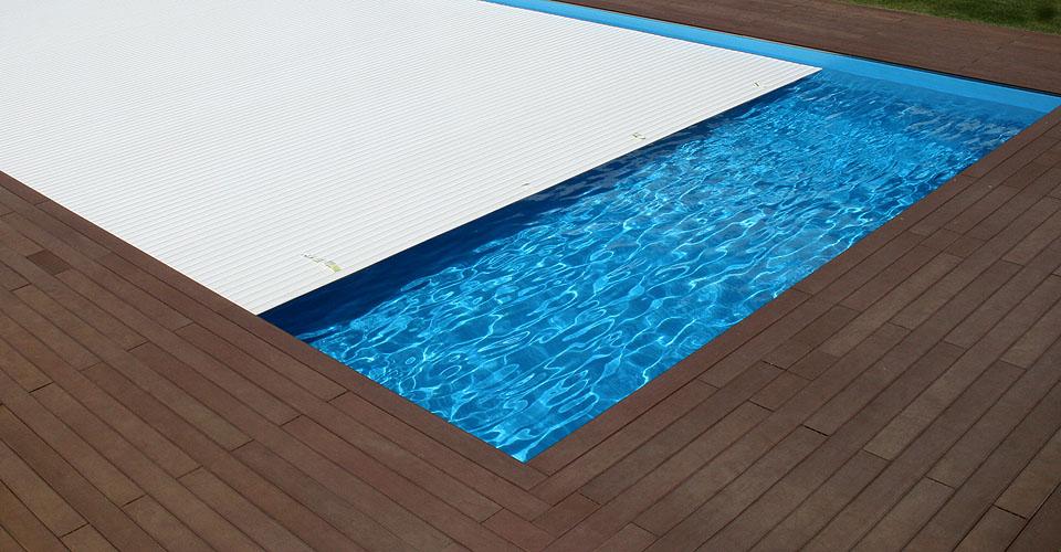 Cobertura para piscina de Estore