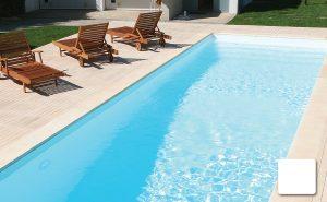 liner piscinas blanc